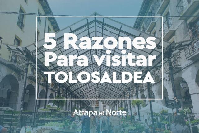 5 Razones por las que viajar a Tolosaldea.