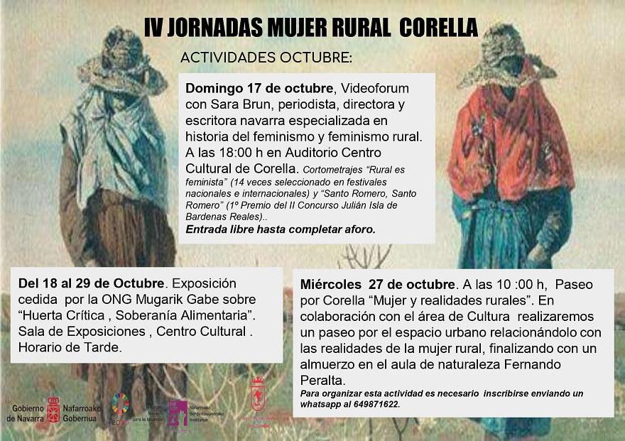 actividades culturales, actividades en la naturaleza, turismo rural, corella, navarra, norte de españa